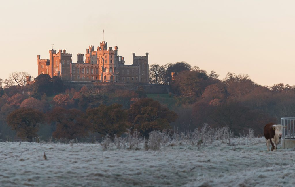 A new year begins at belvoir castle
